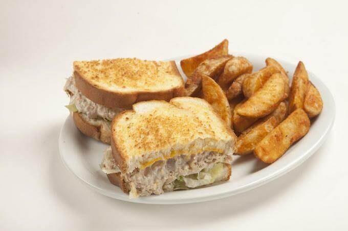 グアムのデニーズのサンドイッチ