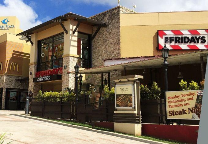 グアムのフライデーズタモン店