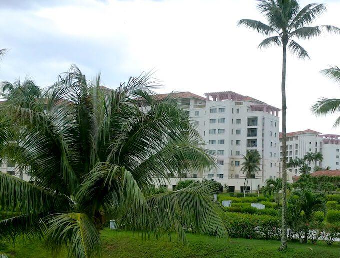 レオパレスリゾートグアムの建物