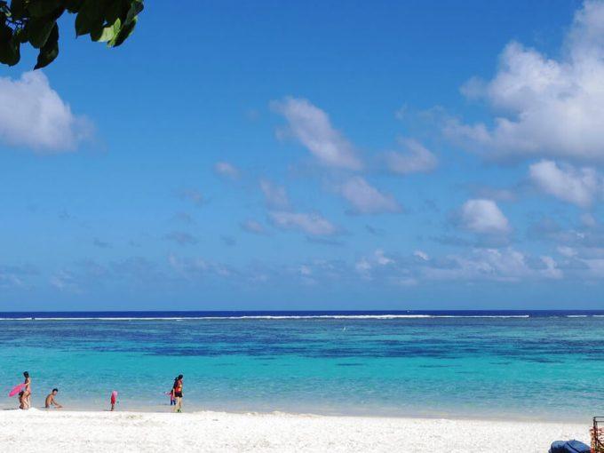 一番綺麗なイパオビーチ