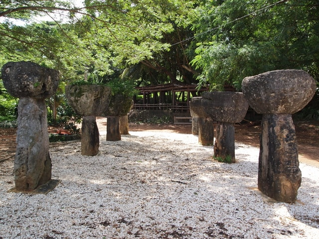 グアムのラッテストーン公園