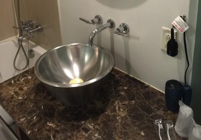 グアムプラザの洗面台