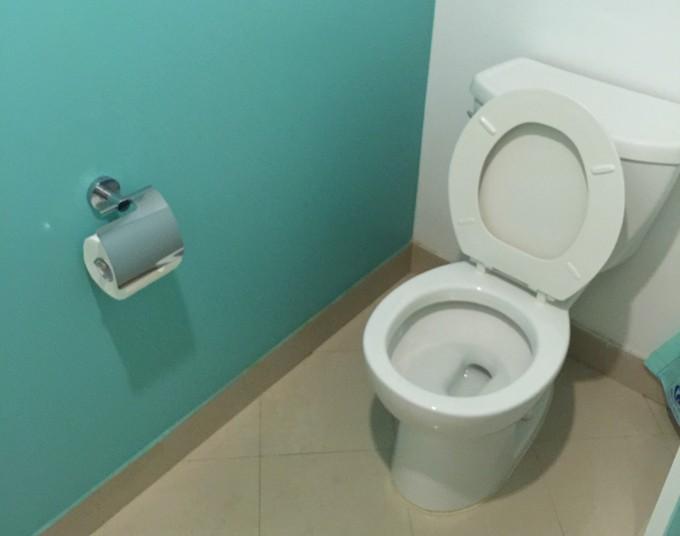 グアムプラザホテルのトイレ