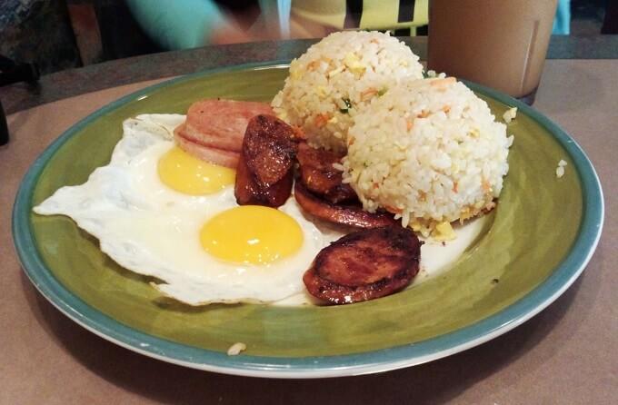 キングスレストランの朝食