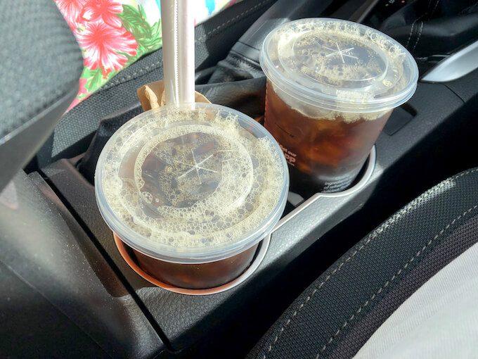 グアムのマクドナルドのコーヒー
