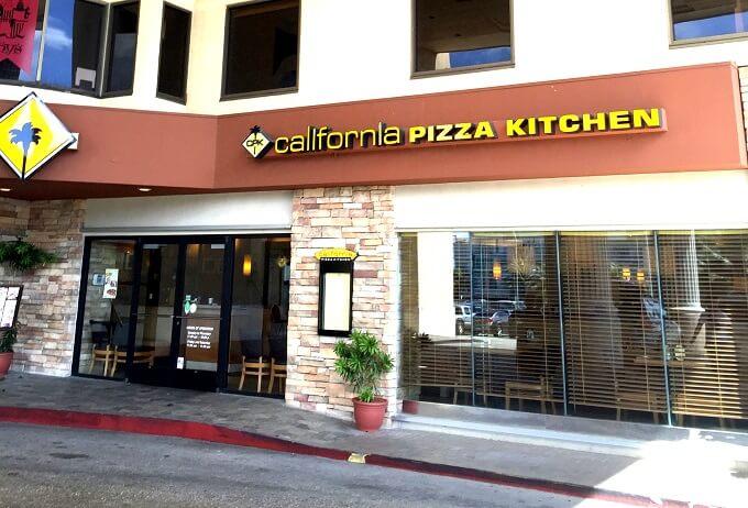 グアムのカリフォルニアピザキッチンの外観