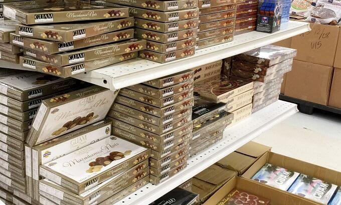 Kマートのアメリカンチョコファクトリーコーナー