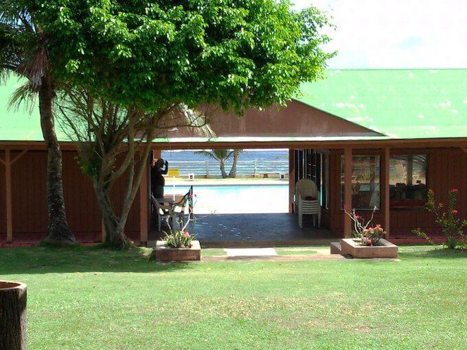 トンガンビーチのオフィス