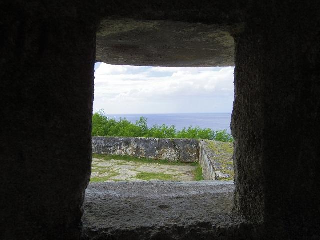 ソレダット砦の中