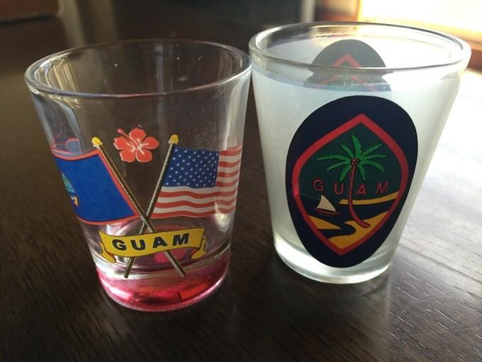 グアムのショットグラス