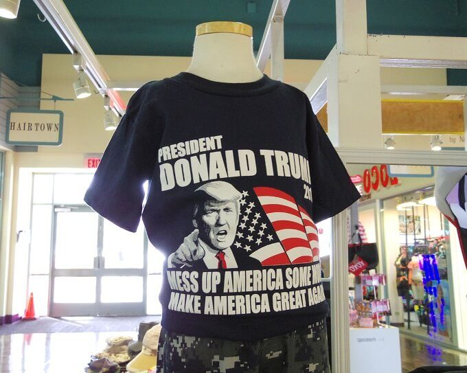 グアムの大統領Tシャツ