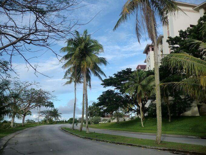 レオパレスリゾートグアムのガーデン