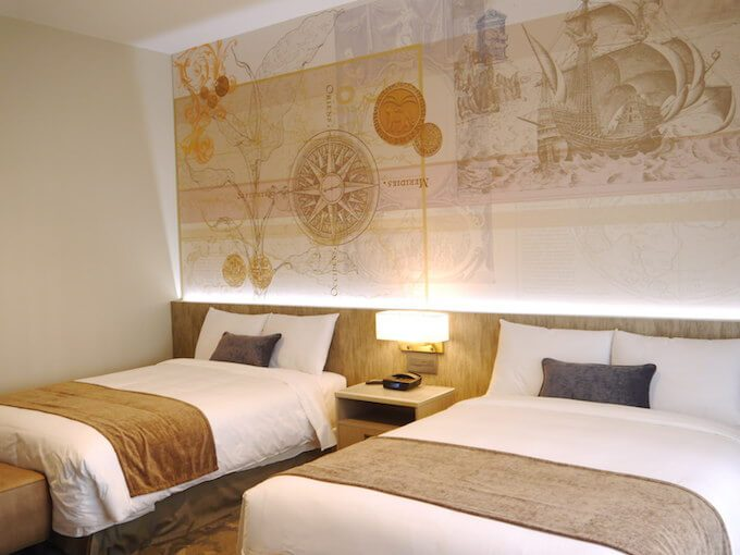 グアムのレオパレスの新しい部屋