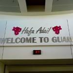 グアム空港の入国の流れ、ツアーカウンターや移動手段等