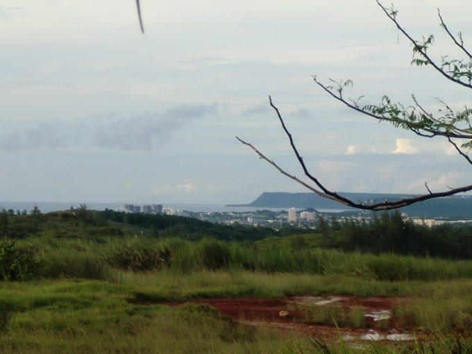 レオパレスグアムから見た海