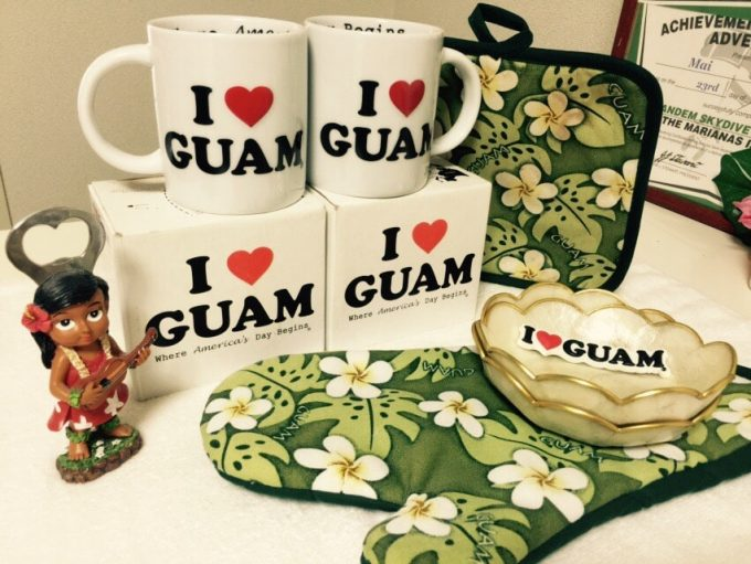 グアムのマグカップ