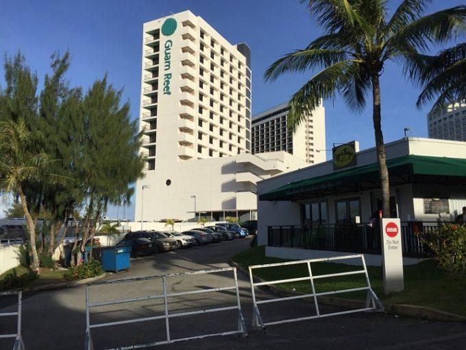 グアムリーフホテルの外観