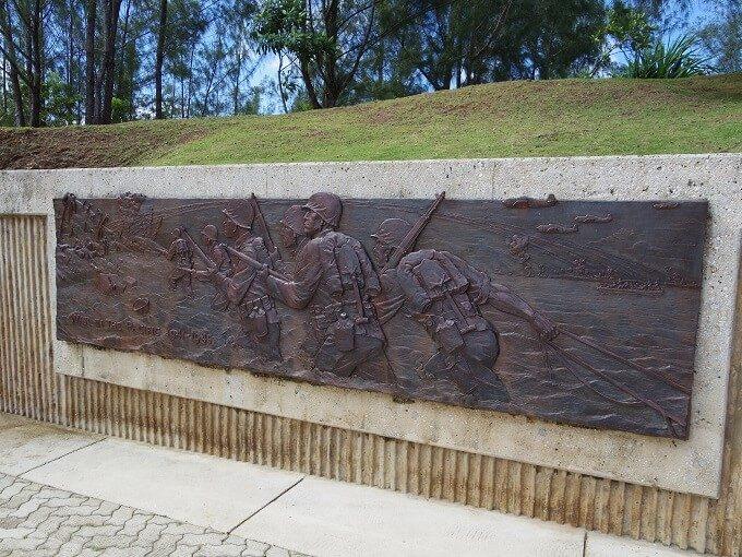グアムのアサン展望台と戦争