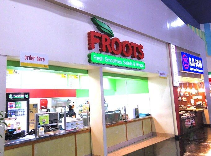 GPOのフードコートのFROOTS