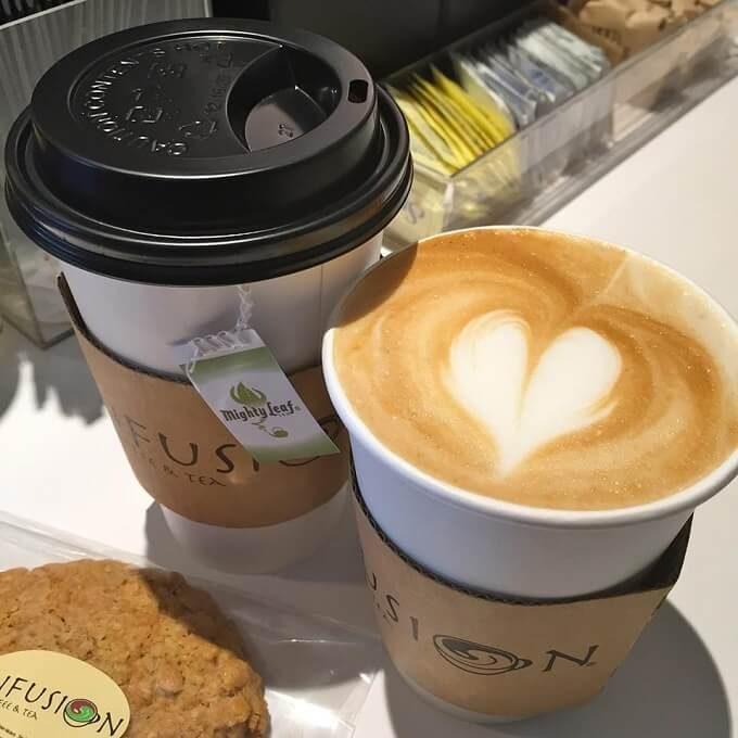 グアムのインフュージョンのコーヒー