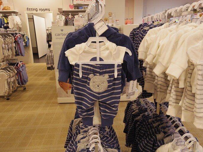 マイクロネシアモールのメイシーズのベビー服
