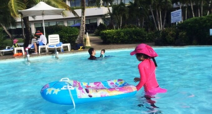 グアムのニッコーホテルの幼児プール