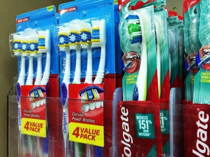 グアムで売っている歯ブラシ