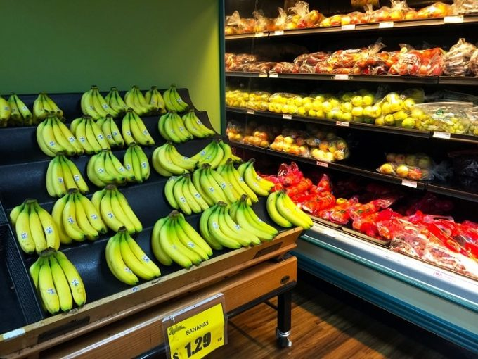 グアムのペイレスのバナナ