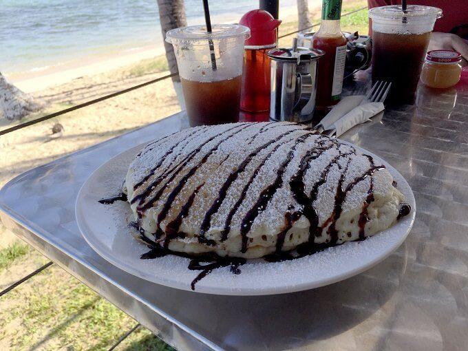 トゥリカフェの大きなパンケーキ