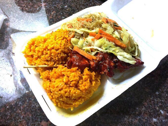 グアムのランビーズの料理