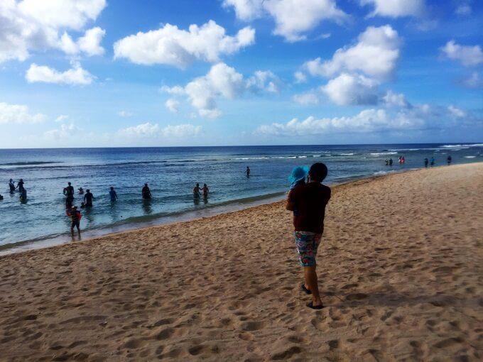 ガンビーチと人