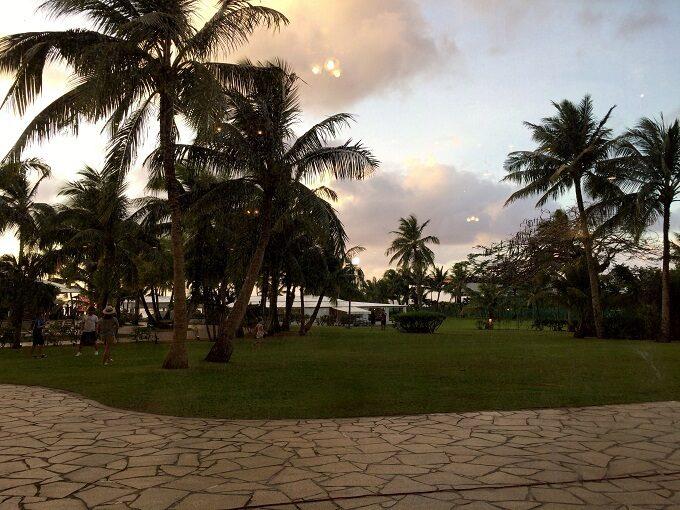 グアムのマゼランから見た景色