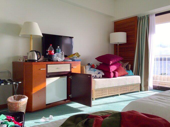 グアムのニッコーホテルの部屋