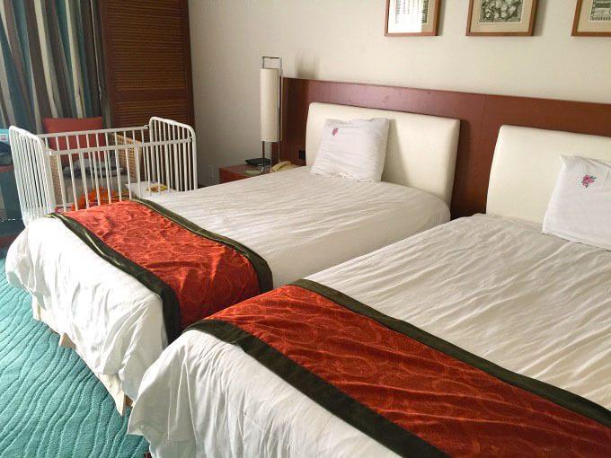 グアムニッコーホテルの部屋