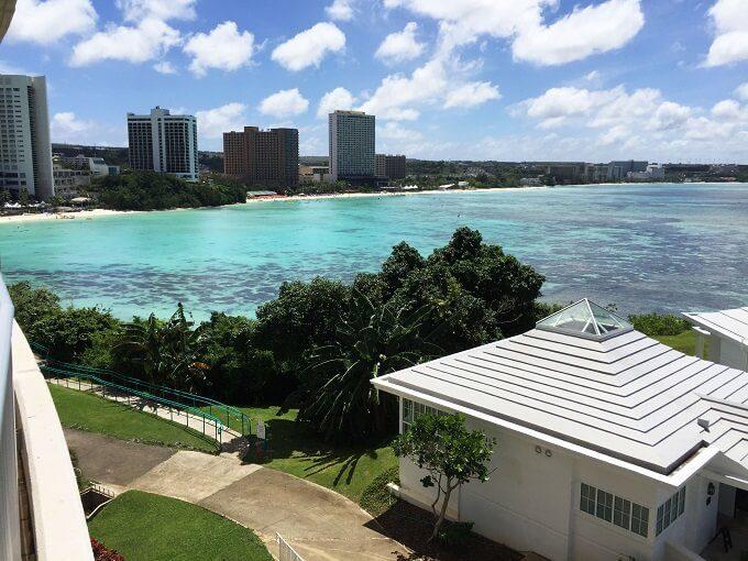 グアムニッコーホテルから見たタモン湾