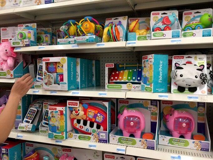 グアムのKマートのベビー用おもちゃ