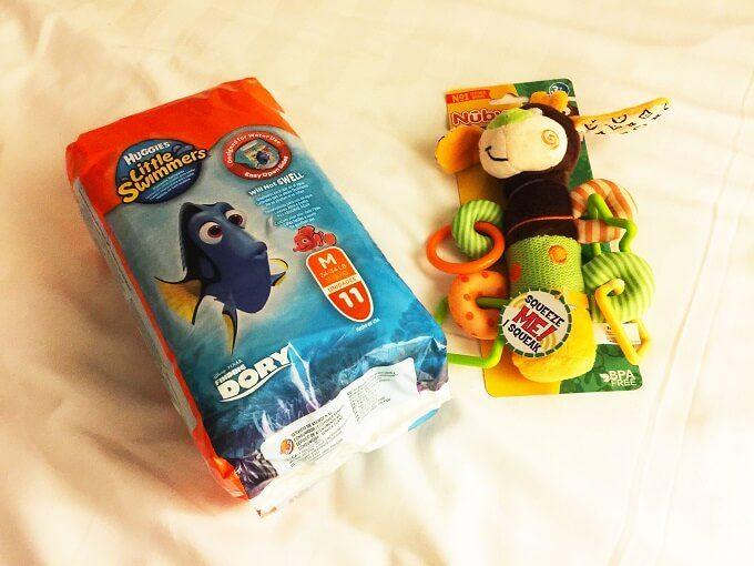 グアムのスイムパンツとおもちゃ