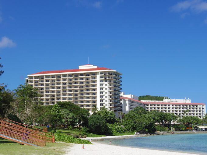 グアムのヒルトンホテル