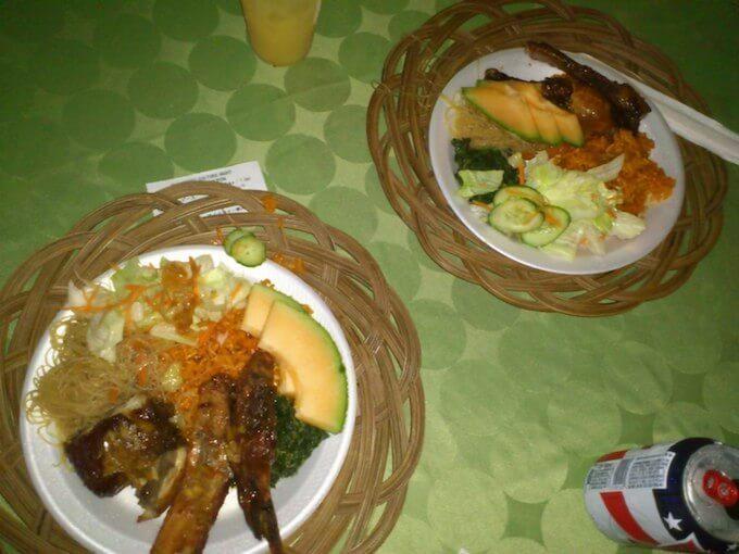 ハガニアのディナーショーで食べたチャモロ料理