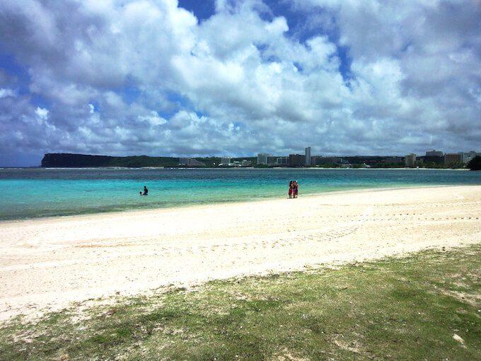 イパオビーチと白砂