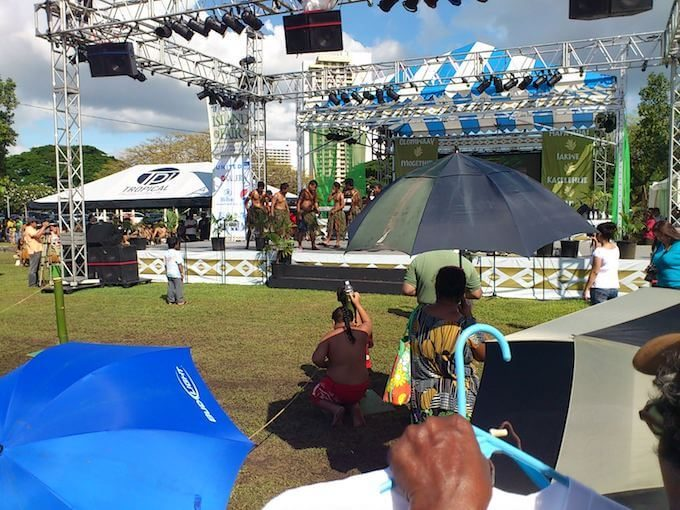 イパオビーチパークのフェスティバルイベント