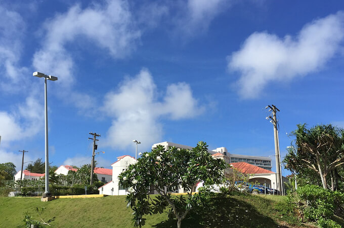 ガーデンヴィラグアムの外観