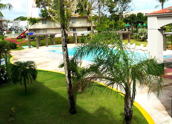 ガーデンヴィラグアムのプール