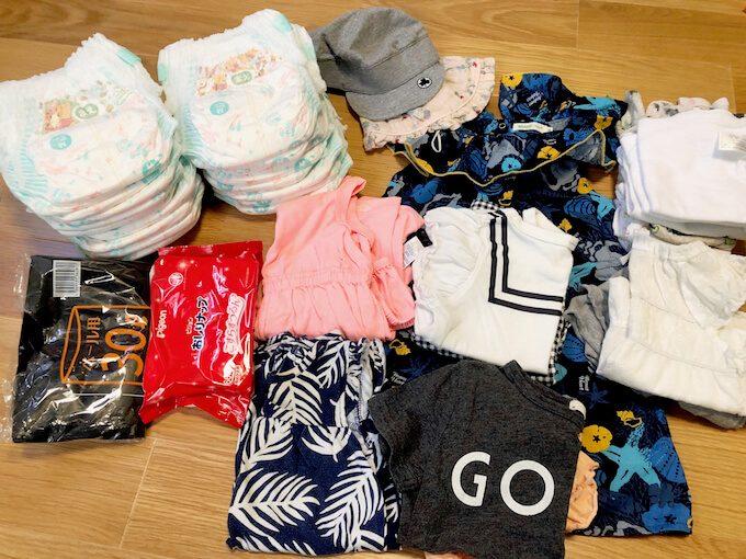 1歳児にグアムで必要な衣類