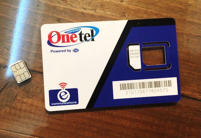 グアムのEcomのSIMカード