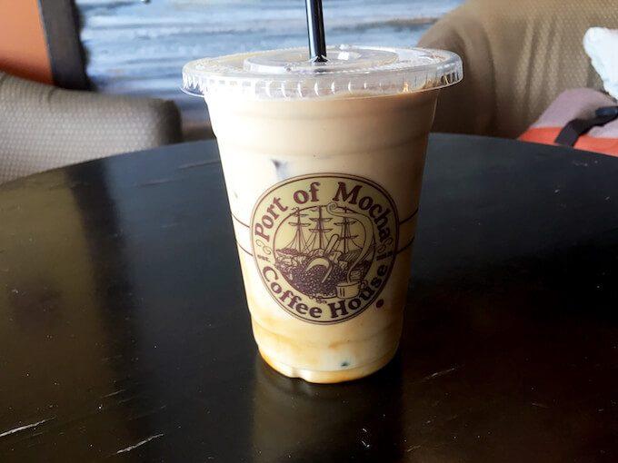 ポートオブモカのカフェラテ