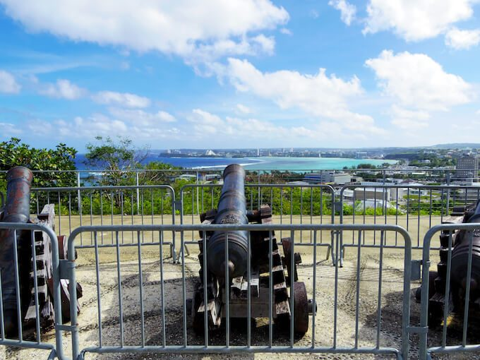 アプガン砦の大砲