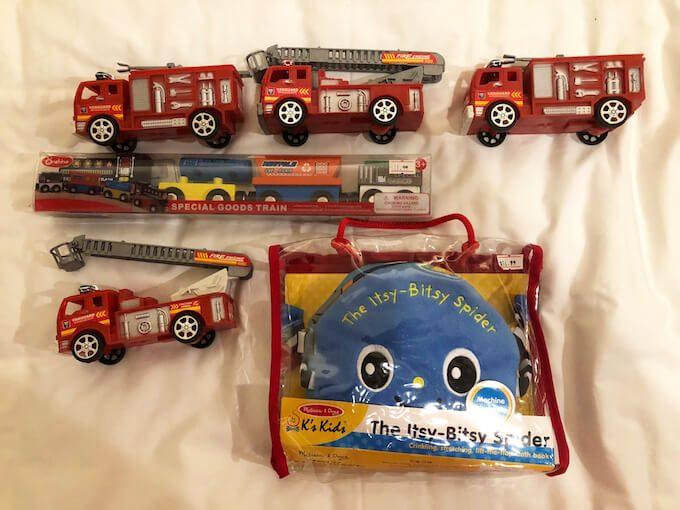 グアムのブラックフライデーで買ったおもちゃ