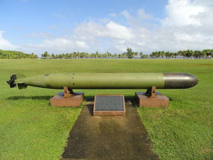 太平洋戦争国立歴史公園の大砲