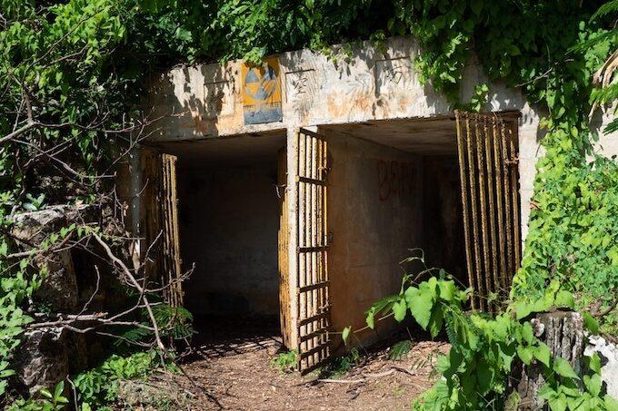 ラッテストーン公園の防空壕